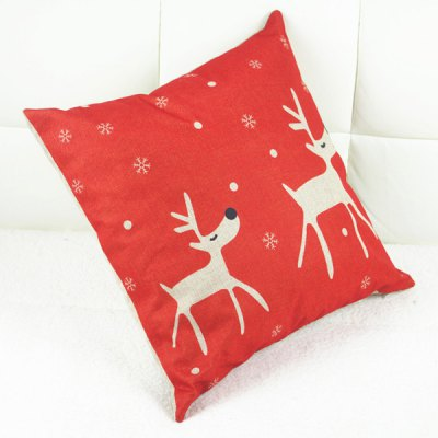 Fashion Christmas Deer Pattern Square Decorative Pillowcase (Without Pillow Inner)Cushion<br>Fashion Christmas Deer Pattern Square Decorative Pillowcase (Without Pillow Inner)<br><br>Material: Other<br>Pattern: Other<br>Style: Modern/Contemporary<br>Shape: Square<br>Size(CM): 44CM * 44CM<br>Weight: 0.143KG<br>Package Contents: 1 x Pillowcase