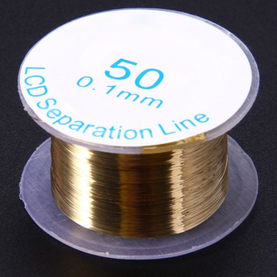 LCD Outer Glass Separator Gold Wire