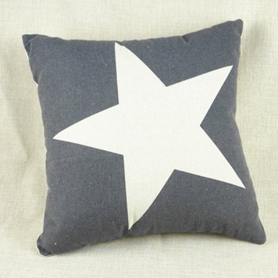 Fashion Star Pattern Decorative Pillowcase (Without Pillow Inner)