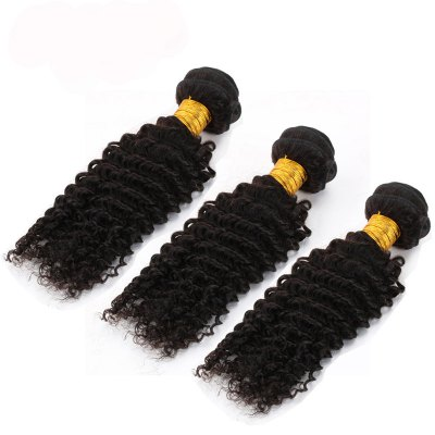 3pcs / lot 6A Brazilian Virgin Hair Kinky Curly Extension Human Hair WeaveHair Weaves<br>3pcs / lot 6A Brazilian Virgin Hair Kinky Curly Extension Human Hair Weave<br><br>Type: Human Hair Weaves<br>Hair Grade: 5A Remy Hair<br>Source: Brazilian Hair<br>Material: Human Hair<br>Style: Kinky Curly<br>Chemical Processing: None<br>Hair Weft: Machine Double Weft<br>Hair Quality: Virgin Hair<br>Suitable Dying Colors: All Colors<br>Color: Natural Black<br>Color Type : Pure Color<br>Can Be Permed: Yes<br>Weight: 0.34KG<br>Package Contents: 3pcs