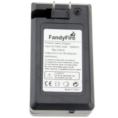 Гаджет   FandyFire AC240 Li-ion Battery Charger ( 18650 Batteries + Car Charger ) Chargers