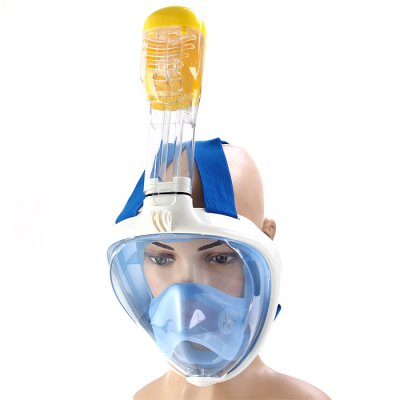 180 Degrees Fully Dry Snorkeling Mask for Adults
