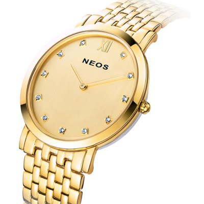 NEOS N30852M Men Japan Diamond Quartz Watch