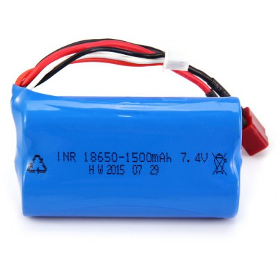 Extra Spare T-plug 7.4V 1500mAh Battery for FEIYUE - 01 / 02 / 03 Remote Control Vehicle