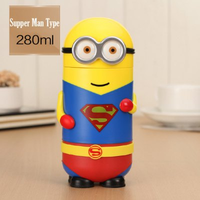 Гаджет   280ML 3D Carton Minions Style Vacuum Thermos Cup Other Camping Gadgets