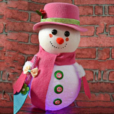 LED Snowman Christmas Gifts Tree Shop Decoration