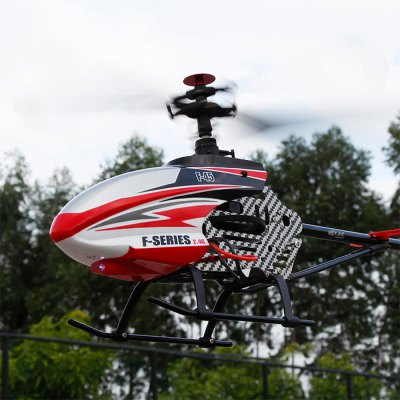 MJX F45 2.4GHz 4CH RC Helicopter with LightRC Helicopters<br>MJX F45 2.4GHz 4CH RC Helicopter with Light<br><br>Type: RC Helicopters<br>Features: Radio Control<br>Functions: Forward/backward, Turn left/right, Up/down, With light<br>Built-in Gyro: Yes<br>Night Flight: Yes<br>Material: Electronic Components, Nylon, Plastic<br>Remote Control: 2.4GHz Wireless Remote Control<br>Channel: 4-Channels<br>Control Distance: About 150m<br>Transmitter Power: 4 x 1.5V AA battery (not included)<br>Helicopter Power: Built-in rechargeable battery<br>Battery Capacity: 7.4V 1500mA<br>Charging time: 120~180mins<br>Flying time: 7~8mins<br>Package Weight   : 1.42 kg<br>Package Size (L x W x H)  : 58 x 15 x 23.5 cm / 22.79 x 5.90 x 9.24 inches<br>Package Contents: 1 x Helicopter, 1 x US Plug Charger, 1 x Transmitter, 2 x Main Blade, 1 x Tail Blade, 1 x English Manual