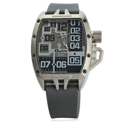 Гаджет   Oulm 3286 Sports Quartz Watch with Rubber Band for Men Men