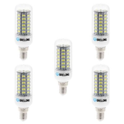 Фотография 5pcs BRELONG 9W E14 SMD 5730 900Lm LED Corn Light
