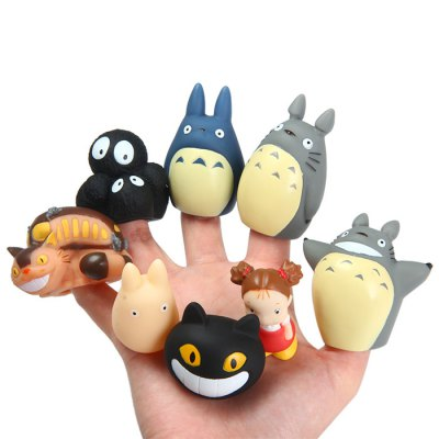 My Neighbor Totoro Characteristic Figure Finger Toy 8Pcs / Set