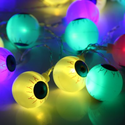 Гаджет   2M 20 Eyeball AA Battery LED String Light Halloween Decoration