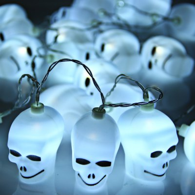 Гаджет   2M 20 Skull AA Battery LED String Light Halloween Decoration