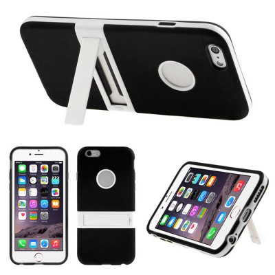 ENKAY Protective Back Cover Case Tempered Glass Screen for iPhone 6 / 6S