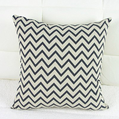 Classical Wave Pattern Decorative Pillowcase(Without Pillow Inner)