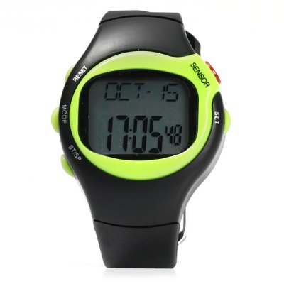 50m Waterproof Infrared Electronic Sports WatchOther Sports Gadgets<br>50m Waterproof Infrared Electronic Sports Watch<br><br>Material: PU<br>Color: Green, Purple, Yellow, Orange, Pink, Blue<br>Gender: Unisex<br>Features: Alarm, Waterproof, Date Display, Universal Time, 1/100s Stopwatch<br>Waterproof Grade: 50m<br>Best Use: Climbing, Running, Camping, Cycling, Hiking, Traveling, Mountaineering<br>Product Weight: 0.042 kg<br>Package Weight: 0.065 kg<br>Product Dimension: 25.2 x 4.6 x 1.5 cm / 9.90 x 1.81 x 0.59 inches<br>Package Dimension: 28.5 x 7 x 2.0 cm / 11.20 x 2.75 x 0.79 inches<br>Package Contents: 1 x Sports Watch ( Built-in 1 x CR2032 Button Battery ), 1 x English User Manual