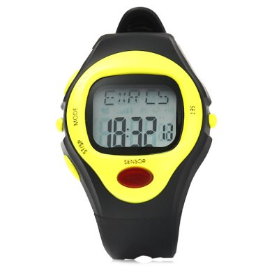 Infrared Electronic Sports Watch Heart Rate Monitoring