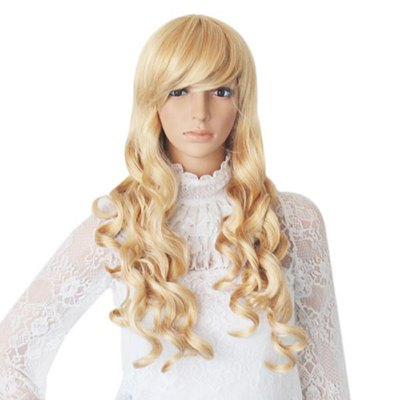 TS-HW73 Women Long Curly Hair Wavy WigHalloween Supplies<br>TS-HW73 Women Long Curly Hair Wavy Wig<br><br>Category: The wig<br>Size: Free Size<br>Style: Charming, Popular, Sexy<br>Season: All Seasons<br>Occasion: Outdoor, Holiday, Daily, Causal, Party<br>Application: Hair<br>Product weight   : 0.200 kg<br>Package weight   : 0.280 kg<br>Product size (L x W x H)   : 60 x 60 x 40 cm / 23.58 x 23.58 x 15.72 inches<br>Package size (L x W x H)  : 43 x 12.5 x 4 cm / 16.90 x 4.91 x 1.57 inches<br>Package Contents: 1 x Wig