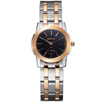 NEOS N40660L Female Japan Working Sub-dial Quartz WatchWomens Watches<br>NEOS N40660L Female Japan Working Sub-dial Quartz Watch<br><br>Brand: NEOS<br>Watches categories: Female table<br>Available color: Silver, Silver and Black, Rose Gold and Silver and White, Rose Gold and Silver and Black, White, Black, Brown, Rose Gold and Black, Rose Gold and White, Rose Gold and Brown<br>Style : Fashion&amp;Casual<br>Movement type: Quartz watch<br>Shape of the dial: Round<br>Surface material: Sapphire<br>Display type: Analog<br>Case material: Stainless steel<br>Band material: Stainless steel<br>Clasp type: Butterfly clasp<br>Water resistance : 30 meters<br>The dial thickness: 0.7 cm / 0.28 inches<br>The dial diameter: 2.8 cm / 1.1 inches<br>Product weight: 0.110 kg<br>Package weight: 0.21 kg<br>Product size (L x W x H) : 18 x 2.8 x 0.7 cm / 7.07 x 1.10 x 0.28 inches<br>Package size (L x W x H): 12 x 10 x 8 cm / 4.72 x 3.93 x 3.14 inches<br>Package contents: 1 x NEOS N40660L Watch