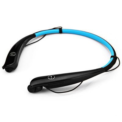 HV - 930 Bluetooth V4.0 EarphoneSports &amp; Fitness Headphones<br>HV - 930 Bluetooth V4.0 Earphone<br><br>Model  : HV - 930<br>Color : Blue, Green, Black, Red<br>Wearing type : Neckband<br>Function : Voice control, MP3 player, Answering phone, Bluetooth, Song switching, Microphone, Multi connection function, HiFi<br>Connectivity : Wireless<br>Connecting interface : Micro USB<br>Application : Portable Media Player, Mobile Phone, Computer<br>Talk Time: up to 10 hours<br>Music Time: up to 8 hours<br>Standby time: up to 16 days<br>Charging time: 2 - 3 hours<br>Bluetooth: Yes<br>Bluetooth version: V4.0<br>Bluetooth distance: W/O obstacles ?10m<br>Bluetooth protocol: AVRCP, HSP, Apt-X, HFP<br>Bluetooth mode: Hands free, Headset<br>Product weight  : 0.044 kg<br>Package weight  : 0.340 kg<br>Product size (L x W x H) : 1 x 1 x 18 cm / 0.39 x 0.39 x 7.07 inches<br>Package size (L x W x H) : 20 x 23 x 5.5 cm / 7.86 x 9.04 x 2.16 inches<br>Package contents: 1 x HV-930 Bluetooth Headset, 1 x USB Charge Cable, 1 x English User Manual