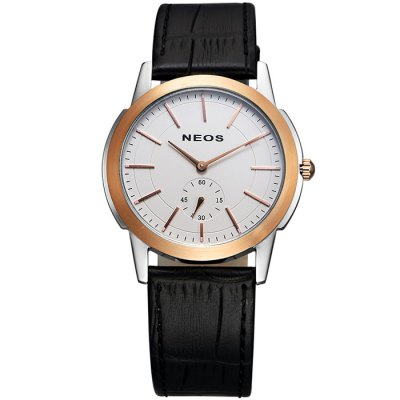 NEOS N40660M Sapphire Mirror Men Japan Quartz WatchMens Watches<br>NEOS N40660M Sapphire Mirror Men Japan Quartz Watch<br><br>Brand: NEOS<br>Watches categories: Male table<br>Watch style: Fashion<br>Watch color: Silver, Silver and Black, Rose Gold and Silver and White, Rose Gold and Silver and Black, White, Black, Brown, Rose Gold and Black, Rose Gold and White, Rose Gold and Brown<br>Movement type: Quartz watch<br>Shape of the dial: Round<br>Surface material: Sapphire<br>Display type: Analog<br>Case material: Stainless steel<br>Band material: Genuine leather<br>Clasp type: Pin buckle<br>Special features: Moving small one stitch<br>Water resistance: 30 meters<br>The dial thickness: 0.7 cm / 0.28 inches<br>The dial diameter: 3.9 cm / 1.53 inches<br>Product weight: 0.080 kg<br>Package weight: 0.230 kg<br>Product size (L x W x H): 22 x 3.9 x 0.7 cm / 8.65 x 1.53 x 0.28 inches<br>Package size (L x W x H): 12 x 10 x 8 cm / 4.72 x 3.93 x 3.14 inches<br>Package contents: 1 x NEOS N40660M Watch