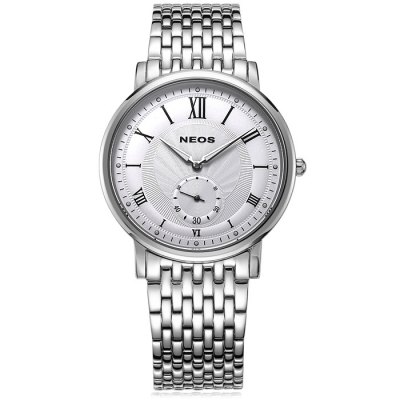 NEOS 40675M Men Sapphire Japan Quartz WatchMens Watches<br>NEOS 40675M Men Sapphire Japan Quartz Watch<br><br>Brand: NEOS<br>Watches categories: Male table<br>Watch style: Fashion<br>Watch color: Silver, Golden and Black, Golden and White, Golden, White and Golden and Brown, Silver and Black, Golden and Brown, Golden and Black and White, Black, Black and White, White and Brown<br>Movement type: Quartz watch<br>Shape of the dial: Round<br>Surface material: Sapphire<br>Display type: Analog<br>Case material: Stainless steel<br>Band material: Stainless steel<br>Clasp type: Butterfly clasp<br>Special features: Moving small one stitch<br>Water resistance: 30 meters<br>The dial thickness: 0.7 cm / 0.28 inches<br>The dial diameter: 4.0 cm / 1.57 inches<br>Product weight: 0.110 kg<br>Package weight: 0.21 kg<br>Product size (L x W x H): 22 x 4 x 0.7 cm / 8.65 x 1.57 x 0.28 inches<br>Package size (L x W x H): 12 x 10 x 8 cm / 4.72 x 3.93 x 3.14 inches<br>Package contents: 1 x NEOS 40675M Watch