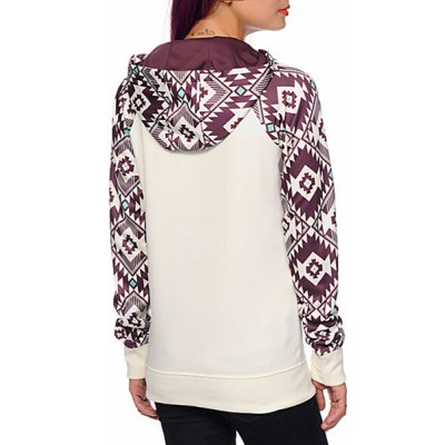 Active Hooded Geometric Printed Pullover Hoodie For WomenWomens Hoodies &amp; Sweatshirts<br>Active Hooded Geometric Printed Pullover Hoodie For Women<br><br>Material: Polyester<br>Clothing Length: Regular<br>Sleeve Length: Full<br>Style: Fashion<br>Pattern Style: Geometric<br>Weight: 0.470KG<br>Package Contents: 1 x Hoodie