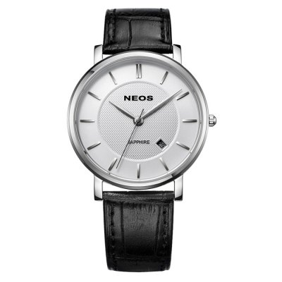 NEOS 40676G Date Function Men Sapphire Mirror Japan Quartz WatchMens Watches<br>NEOS 40676G Date Function Men Sapphire Mirror Japan Quartz Watch<br><br>Brand: NEOS<br>Watches categories: Male table<br>Watch style: Fashion<br>Watch color: Silver, Golden and Black, Golden and White, Golden, White and Golden and Brown, Silver and Black, Golden and Brown, Golden and Black and White, Black, White, Brown<br>Movement type: Quartz watch<br>Shape of the dial: Round<br>Surface material: Sapphire<br>Display type: Analog<br>Case material: Stainless steel<br>Band material: Genuine leather<br>Clasp type: Pin buckle<br>Special features: Date<br>Water resistance: 30 meters<br>The dial thickness: 0.6 cm / 0.24 inches<br>The dial diameter: 3.8 cm / 1.49 incdes<br>Product weight: 0.080 kg<br>Package weight: 0.18 kg<br>Product size (L x W x H): 24.1 x 3.8 x 0.6 cm / 9.47 x 1.49 x 0.24 inches<br>Package size (L x W x H): 12 x 10 x 8 cm / 4.72 x 3.93 x 3.14 inches<br>Package contents: 1 x NEOS 40676G Watch
