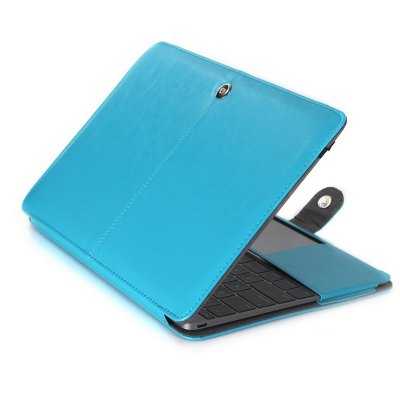 ФОТО ASLING Protective Cover Case for Apple Macbook 12 inch with Notebook Design PU Leather
