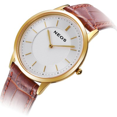 NEOS N40681M Men Japan Quartz Watch Genuine Leather BandMens Watches<br>NEOS N40681M Men Japan Quartz Watch Genuine Leather Band<br><br>Brand: NEOS<br>Watches categories: Male table<br>Watch style: Fashion<br>Watch color: Golden and Black, Golden and White, White and Golden and Brown, Golden and Brown, Black, White, Brown<br>Movement type: Quartz watch<br>Shape of the dial: Round<br>Surface material: Sapphire<br>Display type: Analog<br>Case material: Stainless steel<br>Band material: Genuine leather<br>Clasp type: Pin buckle<br>Water resistance: 30 meters<br>The dial thickness: 0.7 cm / 0.28 inches<br>The dial diameter: 4.0 cm / 1.57 inches<br>Product weight: 0.110 kg<br>Package weight: 0.21 kg<br>Product size (L x W x H): 24 x 4 x 0.7 cm / 9.43 x 1.57 x 0.28 inches<br>Package size (L x W x H): 12 x 10 x 8 cm / 4.72 x 3.93 x 3.14 inches<br>Package contents: 1 x NEOS N40681M Watch
