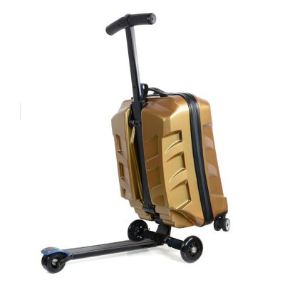Гаджет   Transformers Style Three Wheel Scooter Suitcase Other Sports Gadgets