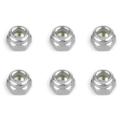 6Pcs Spare 536011 Screw Nut Fitting for FS Racing 1 / 10 Scale RC Desert Buggy Style Truck