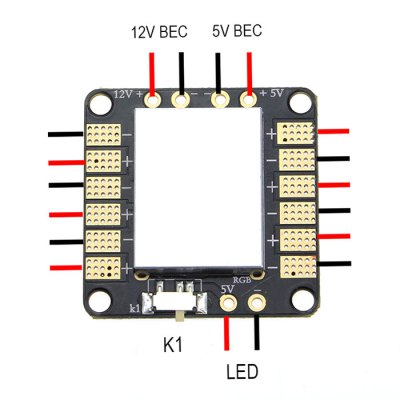 EMAX Two-way BEC Power Distribution Board