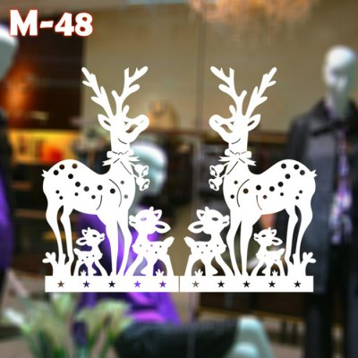 M-48 Sika Deer Style Style Wall Stickers