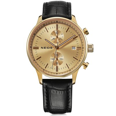NEOS N50551M Date Display Men Japan Quartz Watch - NEOSMens Watches<br>NEOS N50551M Date Display Men Japan Quartz Watch<br><br>Brand: NEOS<br>Watches categories: Male table<br>Watch style: Fashion<br>Watch color: Black, White, Brown, Black and Gold, Black and Gold and White, Gold and Brown, Gold and Brown and White<br>Movement type: Quartz watch<br>Shape of the dial: Round<br>Surface material: Sapphire<br>Display type: Analog<br>Case material: Stainless steel<br>Band material: Genuine leather<br>Clasp type: Pin buckle<br>Special features: Working small two stitches, Date<br>Water resistance: 30 meters<br>The dial thickness: 0.8 cm / 0.31 inches<br>The dial diameter: 4.0 cm / 1.57 inches<br>Product weight: 0.064 kg<br>Package weight: 0.164 kg<br>Product size (L x W x H): 26 x 4 x 0.8 cm / 10.22 x 1.57 x 0.31 inches<br>Package size (L x W x H): 12 x 10 x 8 cm / 4.72 x 3.93 x 3.14 inches<br>Package contents: 1 x NEOS N50551M Watch