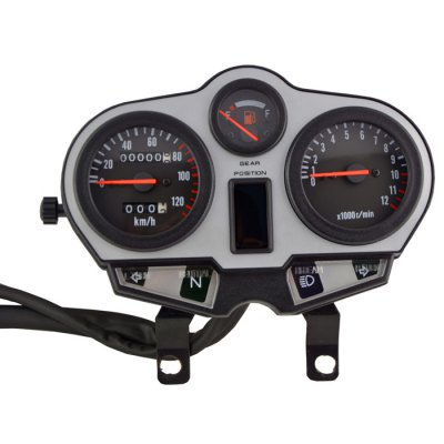 Motorcycle 0-120km / h Speedometer
