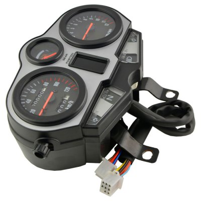 Motorcycle 0-120km / h SpeedometerOther  Motorcycle Accessories<br>Motorcycle 0-120km / h Speedometer<br><br>Accessories Type: Speedometer<br>Product weight: 1.087 kg<br>Package weight: 1.320 kg<br>Product size (L x W x H) : 22 x 17 x 8.5 cm / 8.65 x 6.68 x 3.34 inches<br>Package size (L x W x H): 23.5 x 17.7 x 10.3 cm / 9.24 x 6.96 x 4.05 inches<br>Package Contents : 1 x Motorcycle Speedometer