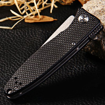 Ganzo G728-OR Liner Lock Folding Pocket Knife