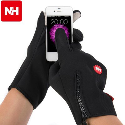 NatureHike NH23S015-T Touch Screen GlovesSkiing &amp; Snowboarding<br>NatureHike NH23S015-T Touch Screen Gloves<br><br>Brand: Naturehike<br>Model Number: NH23S015-T<br>Type: Sports Gloves<br>Material: Fleece lining + Windproof Material<br>Style Design: Full finger<br>Size: M, XL, L<br>Color: Gray, Black<br>Product weight   : 0.094 kg<br>Package weight   : 0.150 kg<br>Package size (L x W x H)  : 34.5 x 14.5 x 4 cm / 13.56 x 5.70 x 1.57 inches<br>Package contents: 1 x A Pair of NatureHike NH23S015-T Touch Screen Gloves