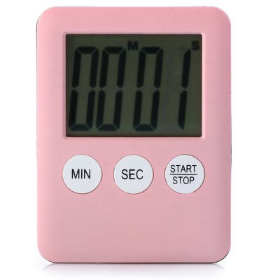 LCD Digital Kitchen Timer Cooking Tool