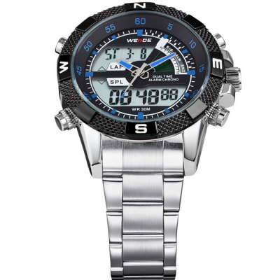 Гаджет   WEIDE WH-1104 Multifunctional Japan Movt Male Military Watch Watches