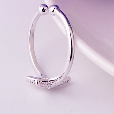 Trendy Starfish Cuff Ring For WomenRings<br>Trendy Starfish Cuff Ring For Women<br><br>Gender: For Women<br>Metal Type: Copper<br>Style: Trendy<br>Shape/Pattern: Others<br>Diameter: 1.7CM<br>Weight: 0.05KG<br>Package Contents: 1 x Ring
