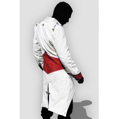 Hooded Color Block Splicing Assassins Creed Long Sleeve Cosplay Mens JacketMens Jakets &amp; Coats<br>Hooded Color Block Splicing Assassins Creed Long Sleeve Cosplay Mens Jacket<br><br>Clothes Type: Jackets<br>Material: Cotton,Polyester<br>Collar: Hooded<br>Clothing Length: Long<br>Style: Novelty<br>Weight: 0.736KG<br>Sleeve Length: Long Sleeves<br>Season: Fall<br>Package Contents: 1 x Jacket