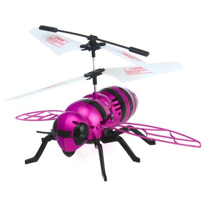 JIEJIE Mini Superbee IR Remote Control Helicopter Lightweight for Children 8+ No.2000