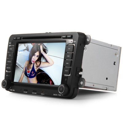 Гаджет   Car Entertainment Kit J - 8613MX Standard Configuration 7 - Inch Touch Screen 1080P Video Resolution GPS DVD Player with Canbus Decorder for VW Car DVD Players