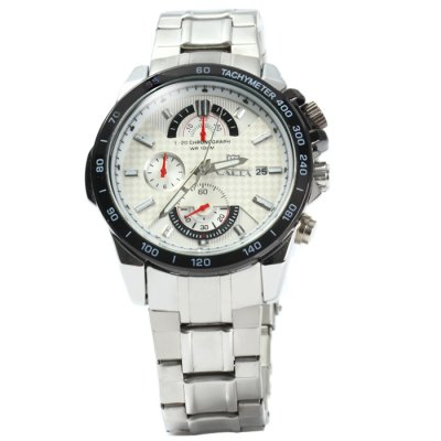 Valia 8069 Men Quartz WatchMens Watches<br>Valia 8069 Men Quartz Watch<br><br>Brand: Valia<br>Watches categories: Male table<br>Watch style: Fashion<br>Available color: White, Black<br>Movement type: Quartz watch<br>Shape of the dial: Round<br>Display type: Analog<br>Case material: Stainless steel<br>Band material: Stainless steel<br>Clasp type: Folding clasp with safety<br>Special features: Date, Moving small three stitches<br>Water resistance: 100 meters<br>The dial thickness: 1.2 cm / 0.47 inches<br>The dial diameter: 4.2 cm / .65 inches<br>The band width: 2.0 cm / 0.79 inches<br>Product weight: 0.139 kg<br>Package weight: 0.189 kg<br>Product size (L x W x H): 23 x 4.2 x 1.2 cm / 9.04 x 1.65 x 0.47 inches<br>Package size (L x W x H): 24 x 5.2 x 2.2 cm / 9.43 x 2.04 x 0.86 inches<br>Package contents: 1 x Valia 8069 Watch