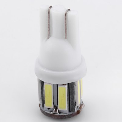 2pcs T10 10SMD 7020 LED Car Light