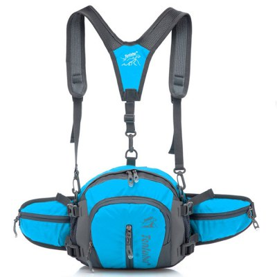 Tanluhu Outdoor Waist Bottle Bag with Shoulder StrapWaistpacks<br>Tanluhu Outdoor Waist Bottle Bag with Shoulder Strap<br><br>Brand: Tanluhu<br>Type: Waist Bag<br>For: Casual,Cycling,Hiking,Mountaineering,Travel<br>Material: Nylon<br>Features: Water Resistant<br>Capacity: 1 - 10L<br>Color: Black,Blue,Green,Purple,Red<br>Product weight: 0.250 kg<br>Package weight: 0.497 kg<br>Product size (L x W x H): 20.00 x 7.00 x 22.00 cm / 7.87 x 2.76 x 8.66 inches<br>Package size (L x W x H): 30.00 x 9.00 x 25.00 cm / 11.81 x 3.54 x 9.84 inches<br>Package Contents: 1 x Tanluhu Waist Bottle Bag, 1 x Shoulder Strap