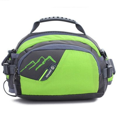 JINPAIDI Multi-use Waist Bag Water Resistant Nylon Made