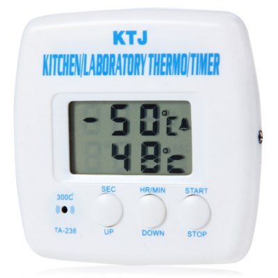 TA-238 LCD Digital Thermometer + Timer