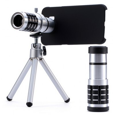 12x Mobile Phone Telephoto Lens for Samsung Galaxy S6 / S6 Edge